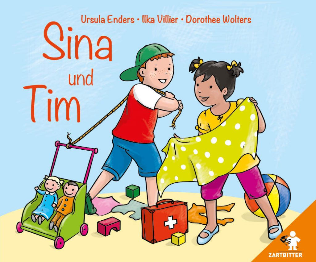 Sina und Tim – Pappbilderbuch für Kinder im Vorschulalter